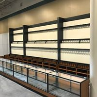 store fixture installation